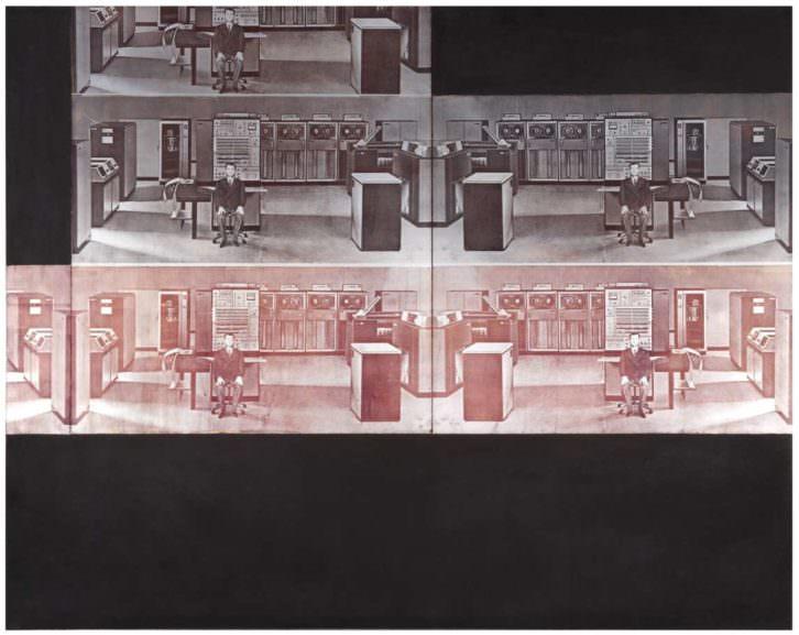 Aislamiento 29, de Anzo. Imagen cortesía del IVAM.