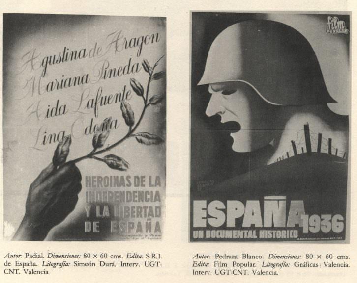 Cartel de 'Artistas en Valencia (1936-1939)'. Imagen cortesía de Alejandro Macharowski.
