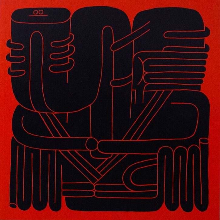 Obra de Diaz-Faes. Imagen cortesía de Plastic Murs.