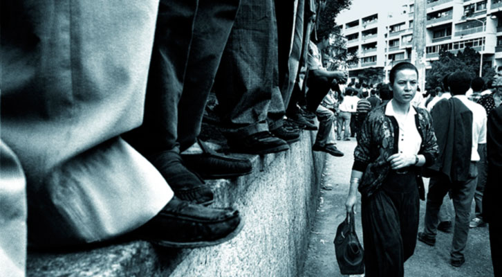 Demonstration. Nadia Benchallal. IVAM