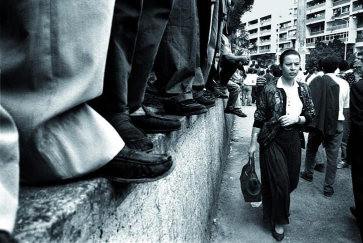 Demonstration, de Nadia Benchallal. Imagen cortesía del IVAM.