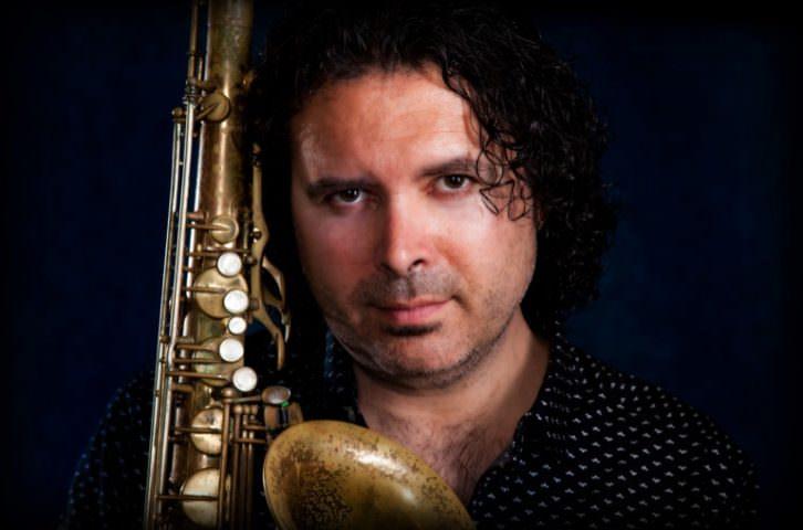 El saxofonista Kiko Berenguer. Imagen cortesía de Ribajazz.
