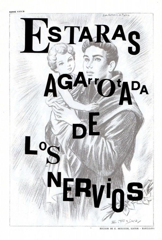 Imagen de 'Los diez mandamientos chochonis', de Costus. Fotografía cortesía de Legado Costus.