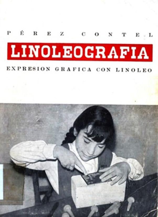 Linoleografía.