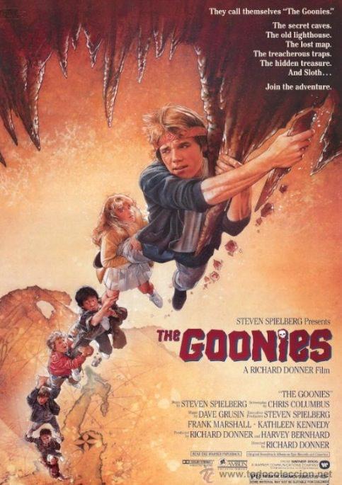 Cartel de Los Goonies.