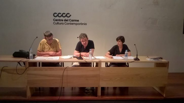 De izda a dcha, Rafael Tormo i Cuenca, Nacho Paris y Teresa. Imagen cortesía de AVVAC.