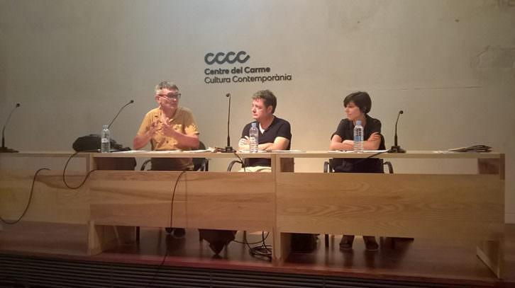 De izda a dcha, Rafael Tormo i Cuenca, Nacho Paris y Raquel Cabrera. Imagen cortesía de AVVAC.
