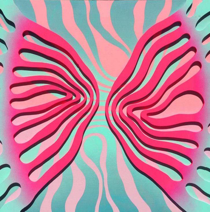 Obra de Roberto Rodríguez. Imagen cortesía de Plastic Murs.