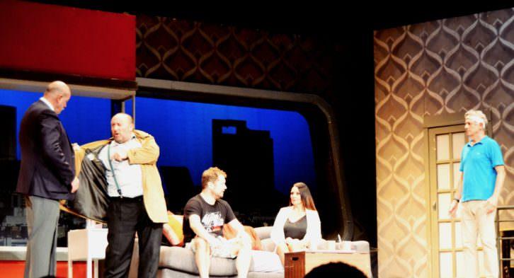 Escena de 'Taxi'. Teatro Olympia. Foto: Malva