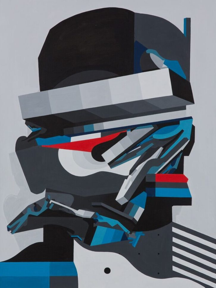 Obra de Tobias Kroeger. Imagen cortesía de Plastic Murs.