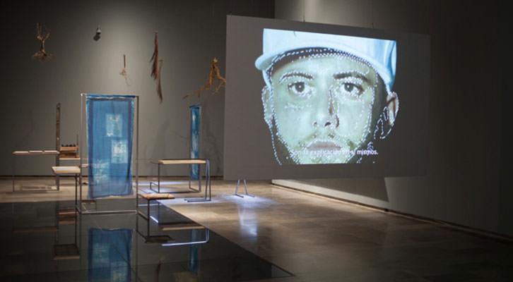 Vista de la exposición del Centre del Carme.