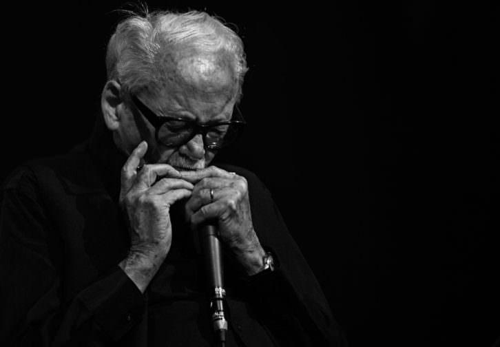 El armonicista Toots Thielemans, homenajeado por Antonio Serrano en Ribajazz.