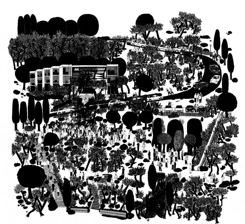 Imagen de 'Montjuic', de Francesc Ruiz. Fotografía cortesía del autor y Galería Espacio Mínimo.
