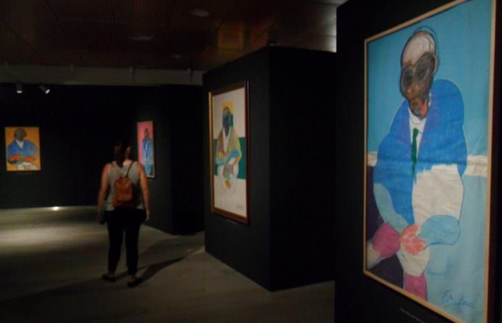 Vista de la exposición de Francis Bacon en la Fundación Bancaja.