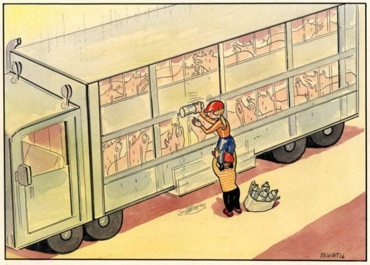 Ilustración de Paco Catalán. Imagen cortesía del Centre del Carme.
