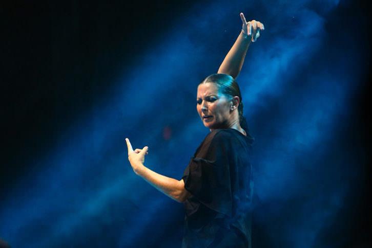 Sara Baras. Imagen cortesía del Teatro Olympia.