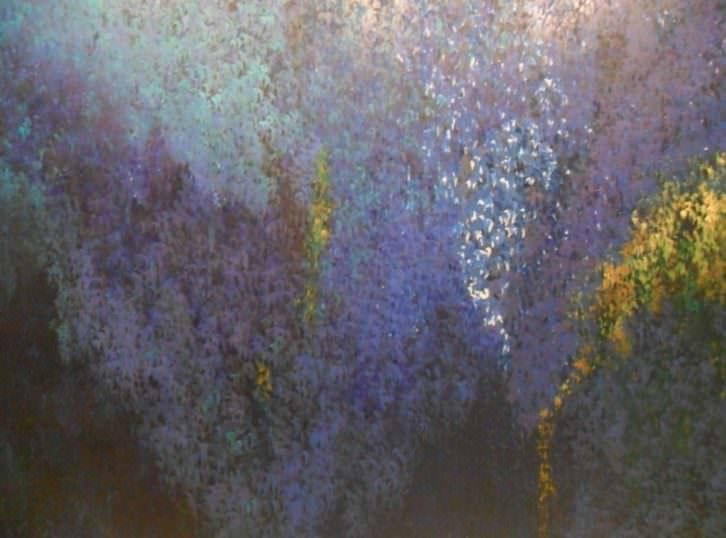 Obra de Soledad Sevilla en la exposición Arte contemporáneo (1984-2010). Fundación Bancaja