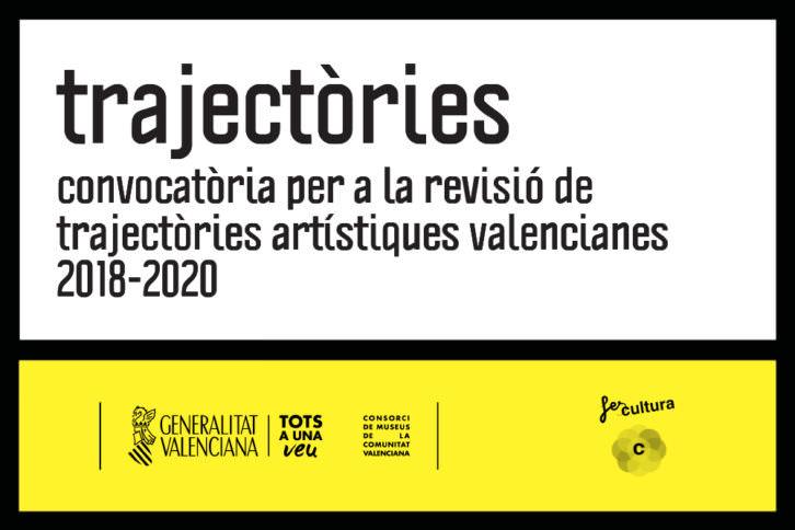 Banner de la nueva convocatoria Trajectories. Imagen cortesía del Centre del Carme.