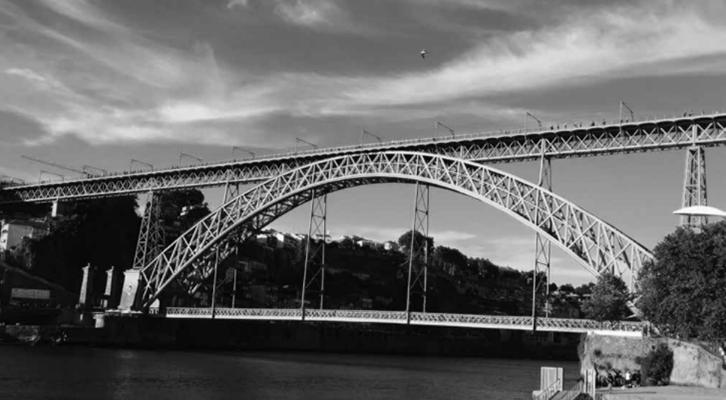 Imagen: Detalle del puente de Oporto, Cedida por Antonio Alcaraz