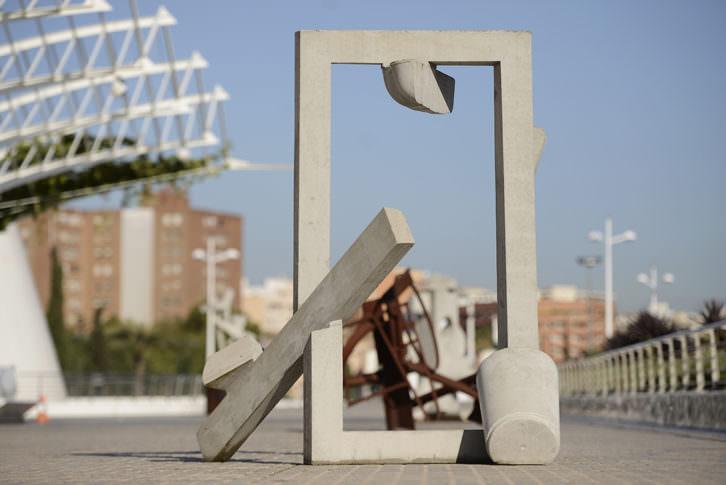 Escultura de Ruud Kuijer. Imagen cortesía del Museo de las Artes y las Ciencias.