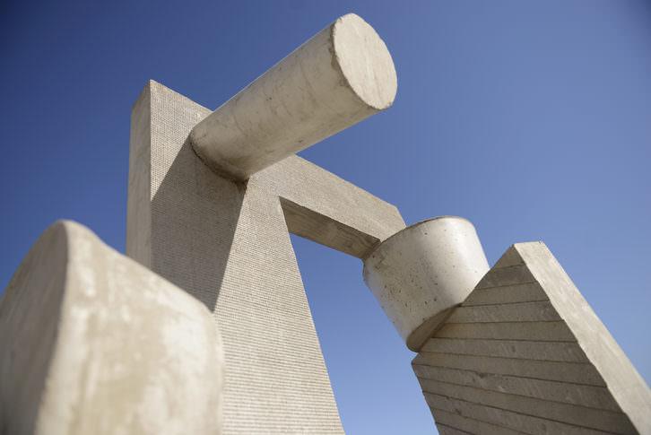 Detalle de una de las esculturas de Ruud Kuijer. Imagen cortesía del Museo de las Artes y las Ciencias.