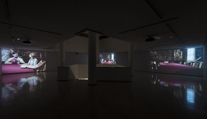 Vista de la exposición 'Cartografías de lo invisible' de Carmela García. Imagen cortesía del IVAM.