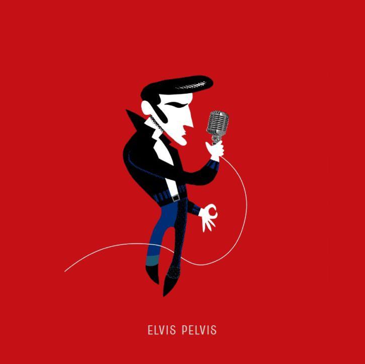 Elvis, de Carlos Ortin. Imagen cortesía del autor.