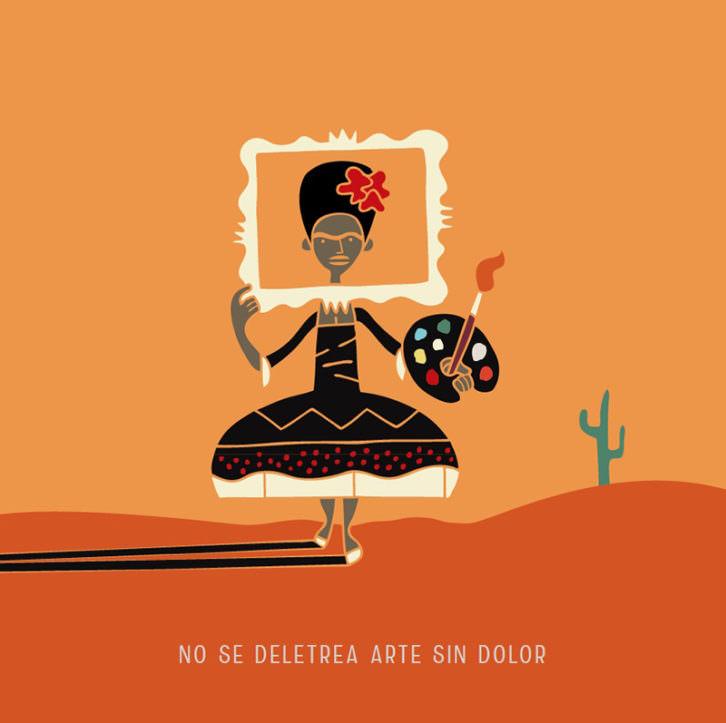 Frida, de Carlos Ortin. Imagen cortesía del autor.