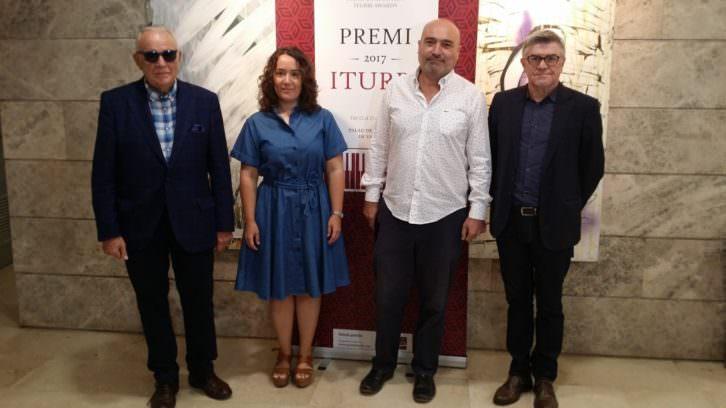 De izda a dcha, Joaquín Soriano, Glòria Tello, Xavier Rius y Vicent Ros. Imagen cortesía de la Diputación de Valencia.