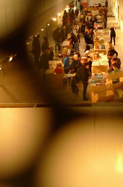 Festival del libro. Imagen de archivo makma.