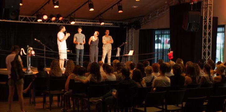 Presentación del primer Torneo Dramaturgia CreadorES. Imagen cortesía de la organización.