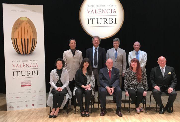 Jurado del Premio Iturbi 2017. Imagen cortesía de la Diputación de Valencia.