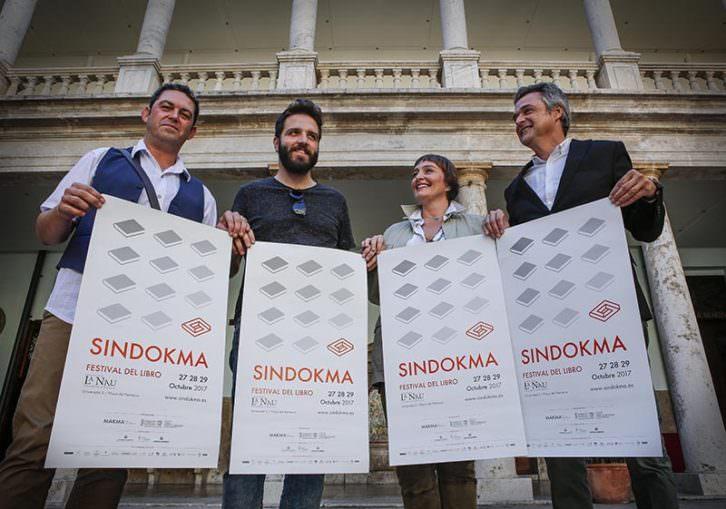 De izda a dcha, Jose Ramón Alarcón, Ismael Teira, Merche Medina y Vicente Chambó. Foto: Jose Cuéllar.
