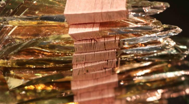 Imagen de un las piezas de Anna Talens que forman parte de la exposición. Fotografía cortesía de la Fundación Chirivella Soriano.