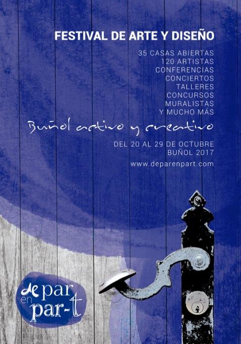 Cartel del festival 'De part en part'. Imagen cortesía de la organización.