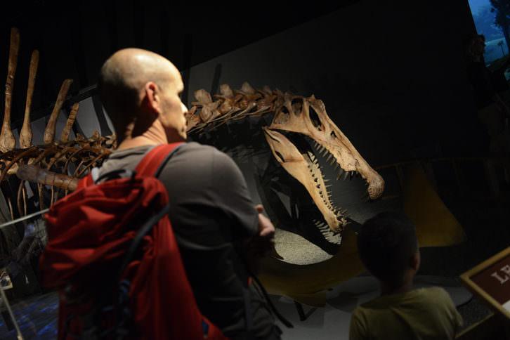 Spinosaurus: el gigante perdido del Cretáceo.Imagen cortesía del Museo de las Ciencias.