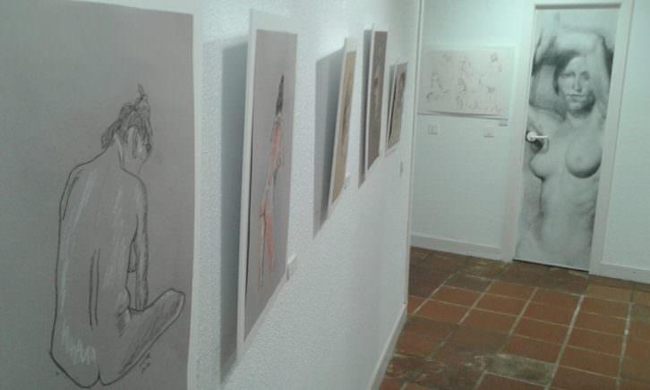 Interior del Círculo de Bellas Artes de Valencia.