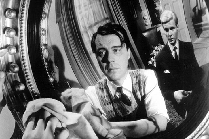 El sirviente, de Joseph Losey. Imagen cortesía de La Filmoteca.
