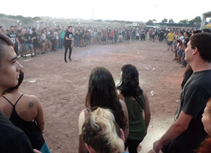 Un momento del festival Festardor. Foto: Javier Caro.