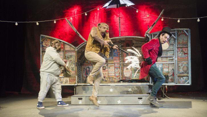 Lunaticus Circus. Imagen cortesía de Sala Russafa.