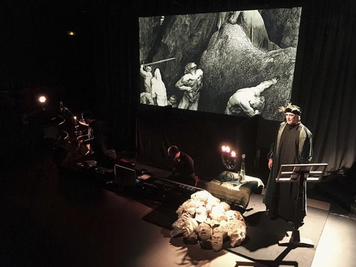 La divina comedia tres actos tres int rpretes makma for Sala imperdible
