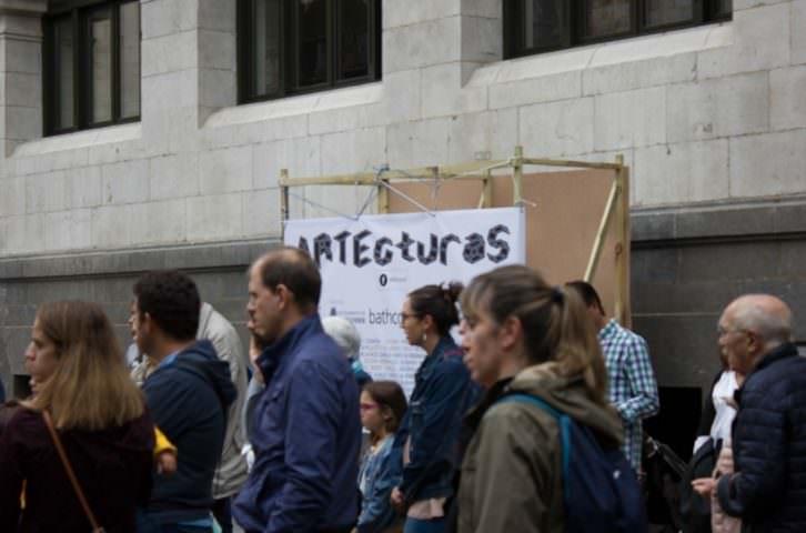 Público en el festival Artecturas. Foto: Néstor Navarro.