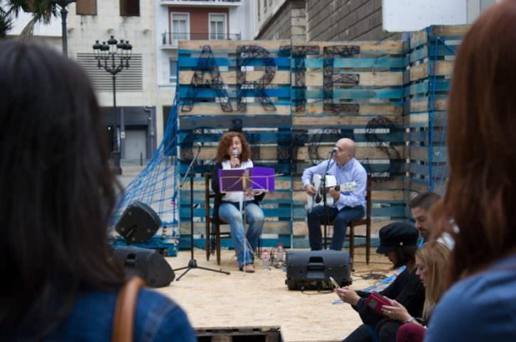Hot Café Fusion en el festival Artecturas. Foto: Néstor Navarro.