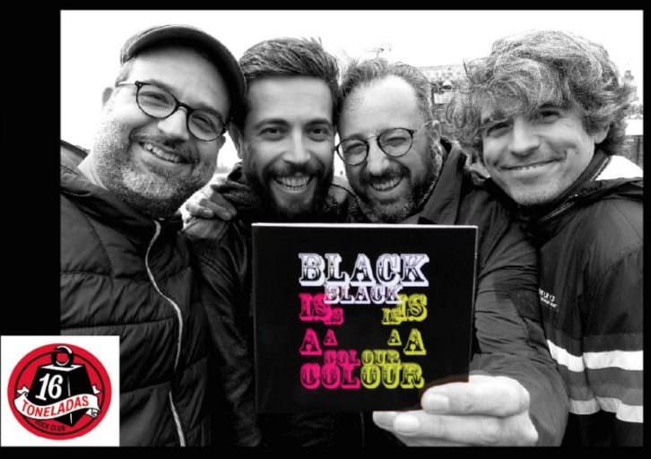 Black Is A Colour, nuevo disco de Serie B. Imagen cortesía de la banda.