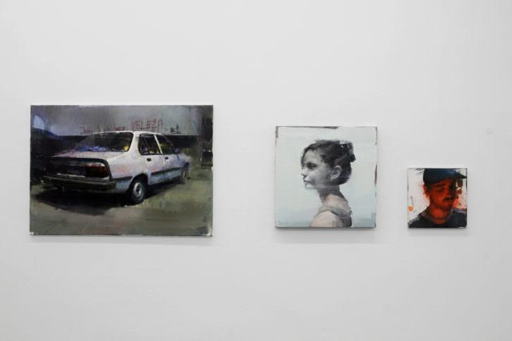 Obras de la exposición 'Lugares comunes'. Imagen cortesía de Plastic Murs.