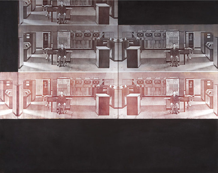 Aislamiento 29 (1968), de Anzo. Imagen cortesía del IVAM.