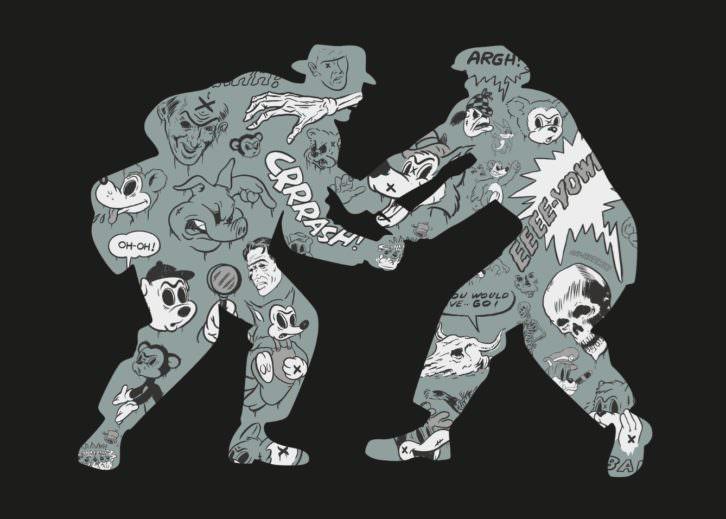 Obra de Coté Escrivá. Imagen cortesía de Pepita Lumier