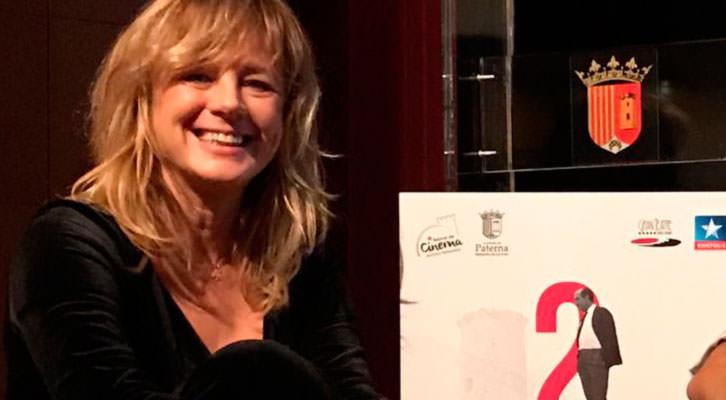 Emma Suárez en el Festival Internacional de Cine Antonio Ferrandis. Foto: Javier Caro.