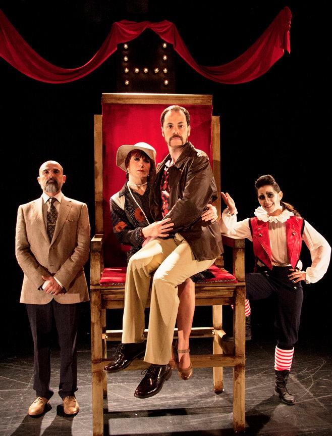 ¿Hamlet...es nombre o apellido?, de la compañía Tarambana. Imagen cortesía de Sala Russafa.