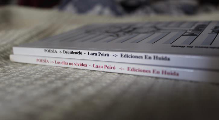 """""""Del silencio"""" y """"Los días no vividos"""". Fotografía cortesía del autora."""